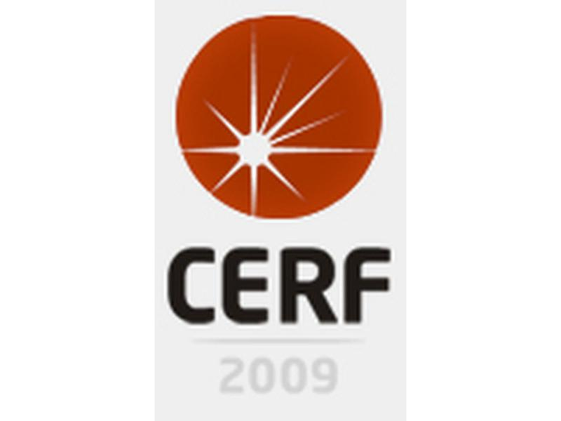 Logo CERF 2009 in Bucharest