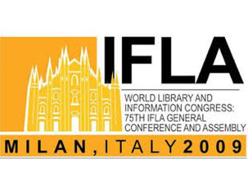 Logo 75th IFLA 2009 in Milano