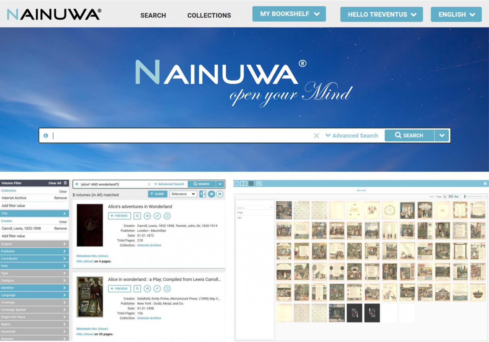 Nainuwa digital archive